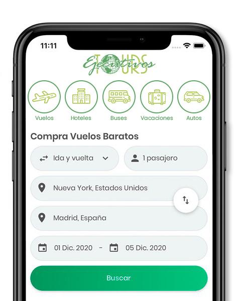 App Ejecutivos Tours Ltda.